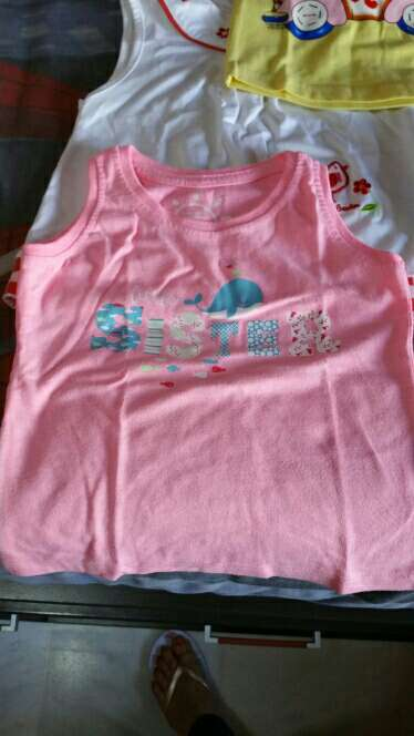 Imagen producto Lote de camisetas de tirantes niña  3