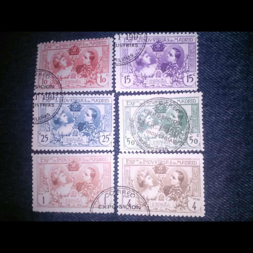 Imagen sellos Alfonso XII