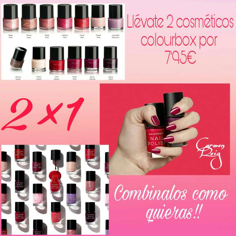 Imagen producto Esmaltes de uñas COLOURBOX  2