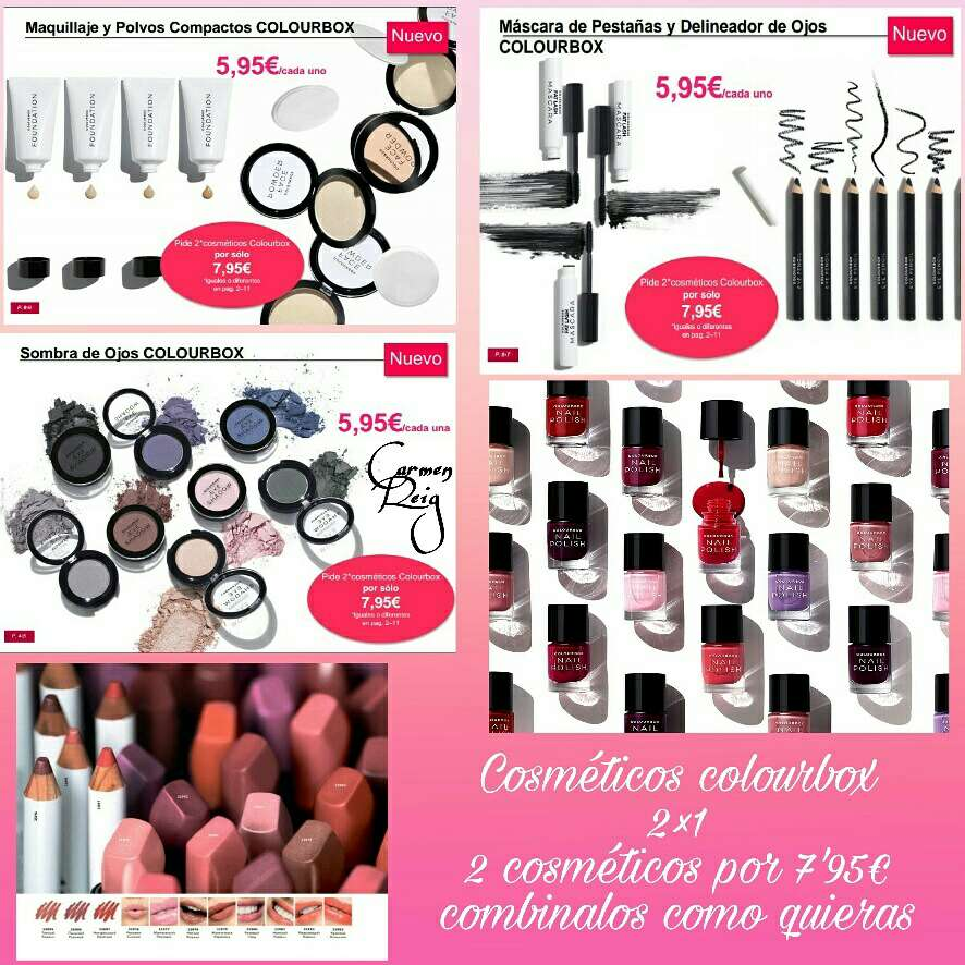 Imagen producto Esmaltes de uñas COLOURBOX  3