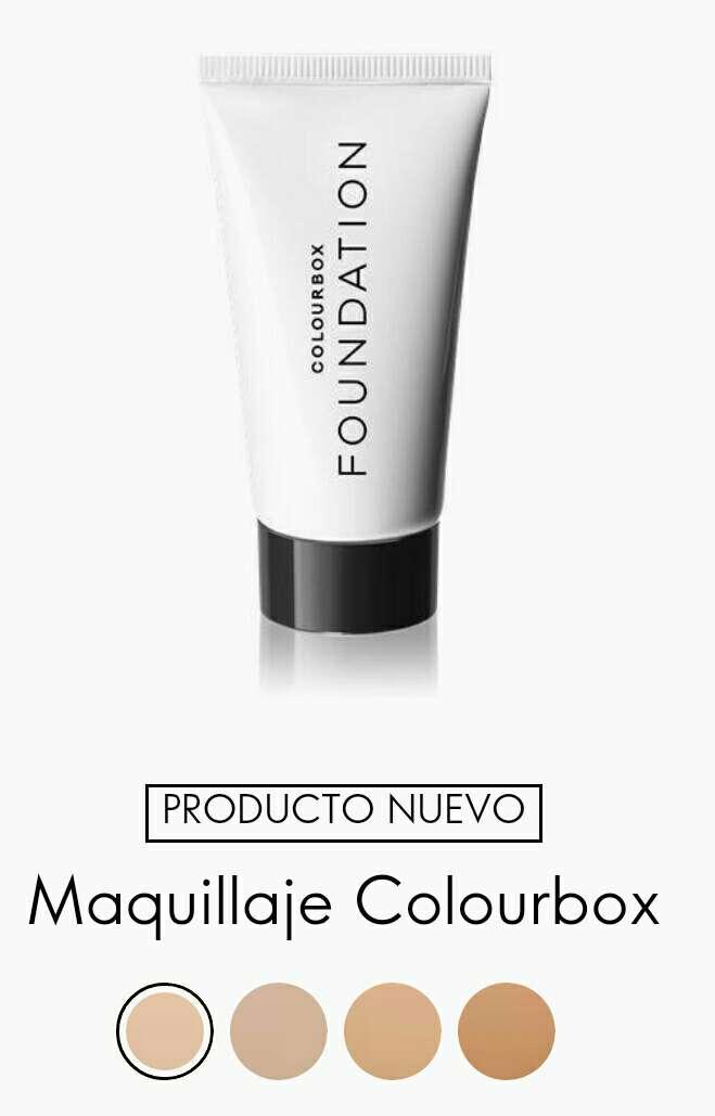 Imagen maquillaje colourbox 55% dto 2 productos por 7,95€
