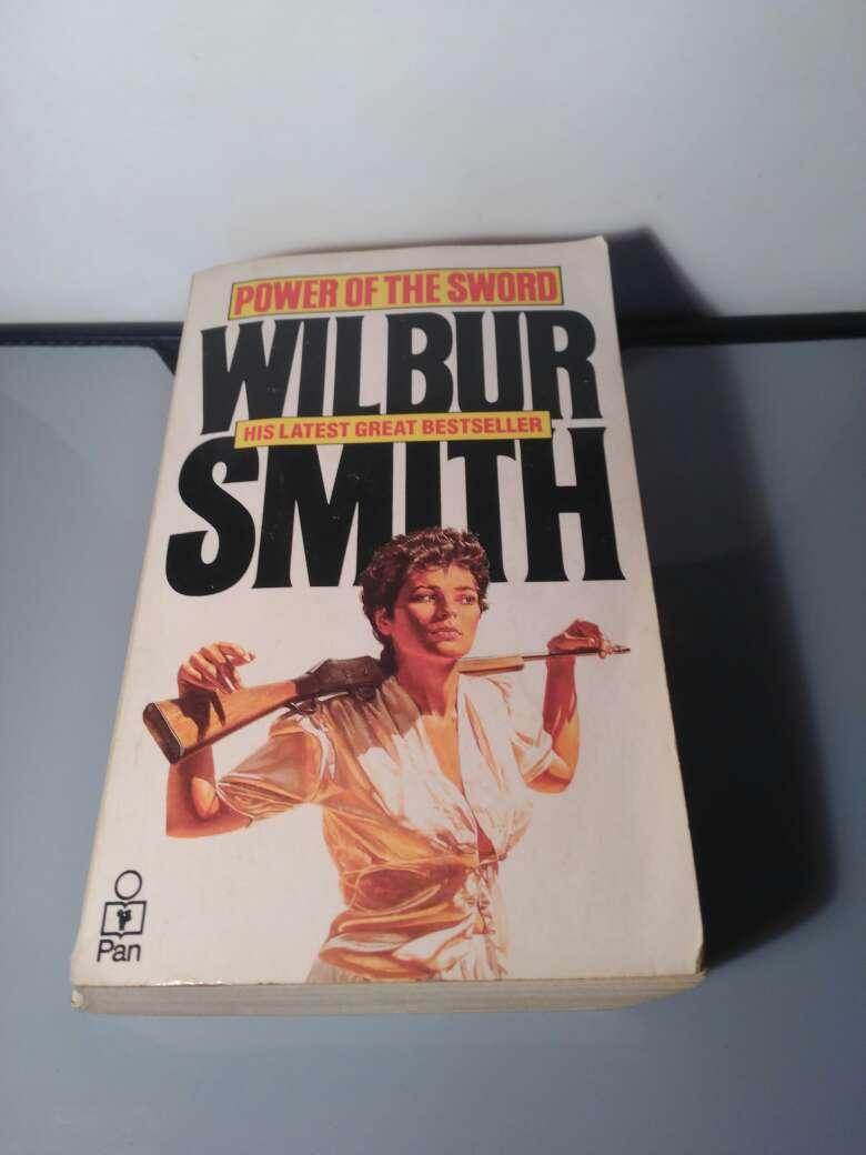 Imagen libro, Wilbur Smith en inglés