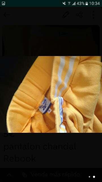 Imagen producto Pantalon chandal Rebook m  2