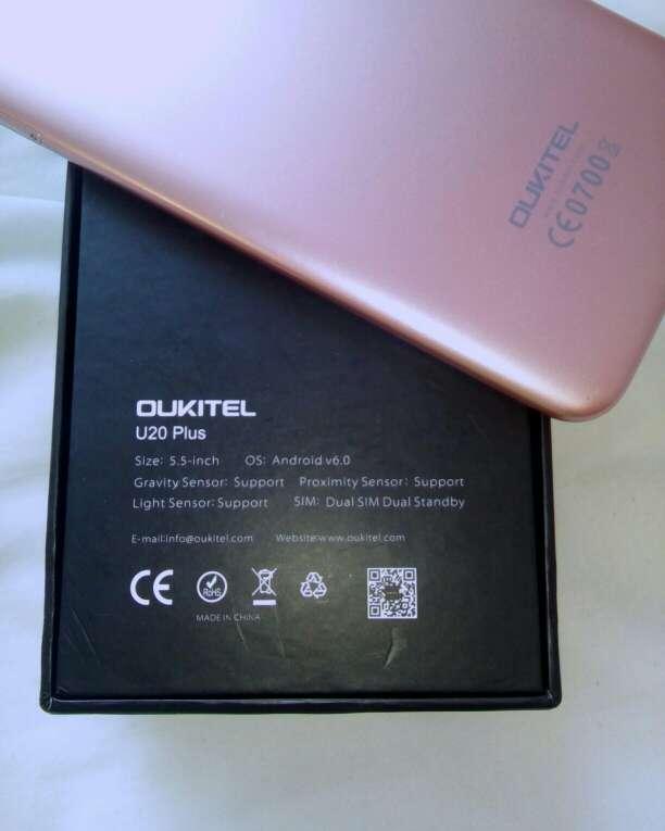 Imagen producto Oukitel u20 plus rosa 3