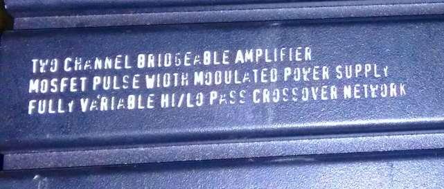Imagen amplificador de potencia