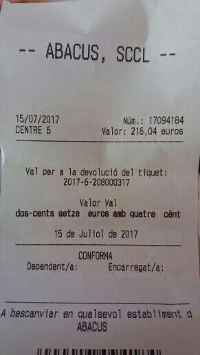 Imagen producto Vendo vale abacus de 200€ 1