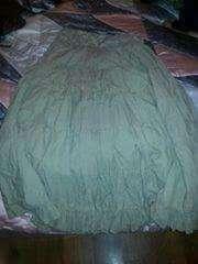 Imagen falda larga verde
