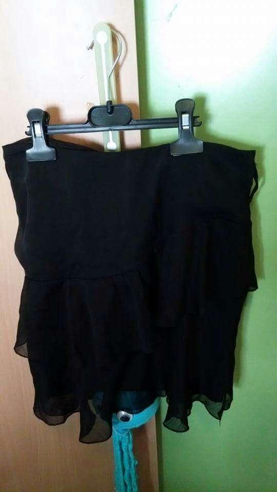 Imagen minifalda negra 38