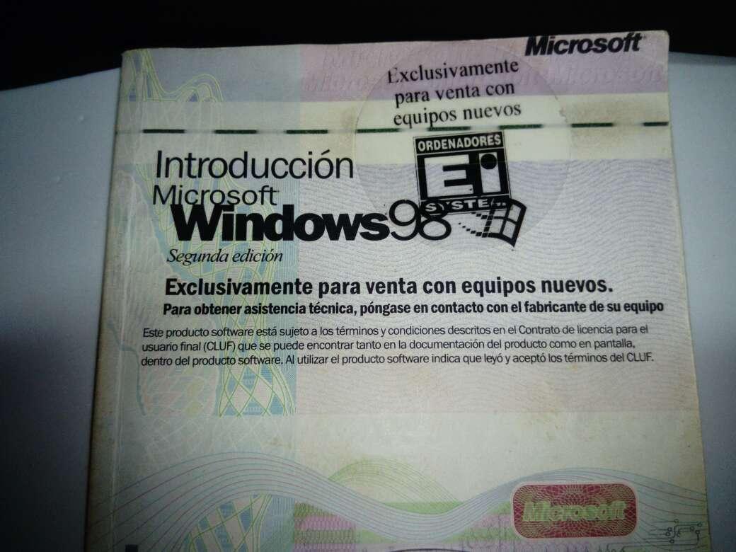 Imagen Windows 98 original