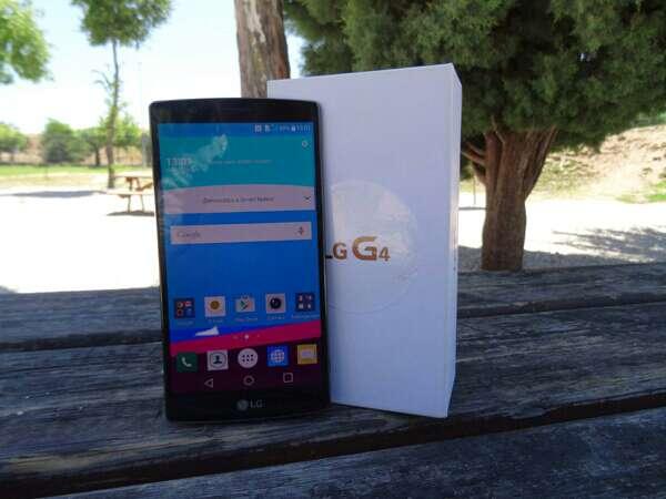 Imagen LG G4 Gris Titan libre