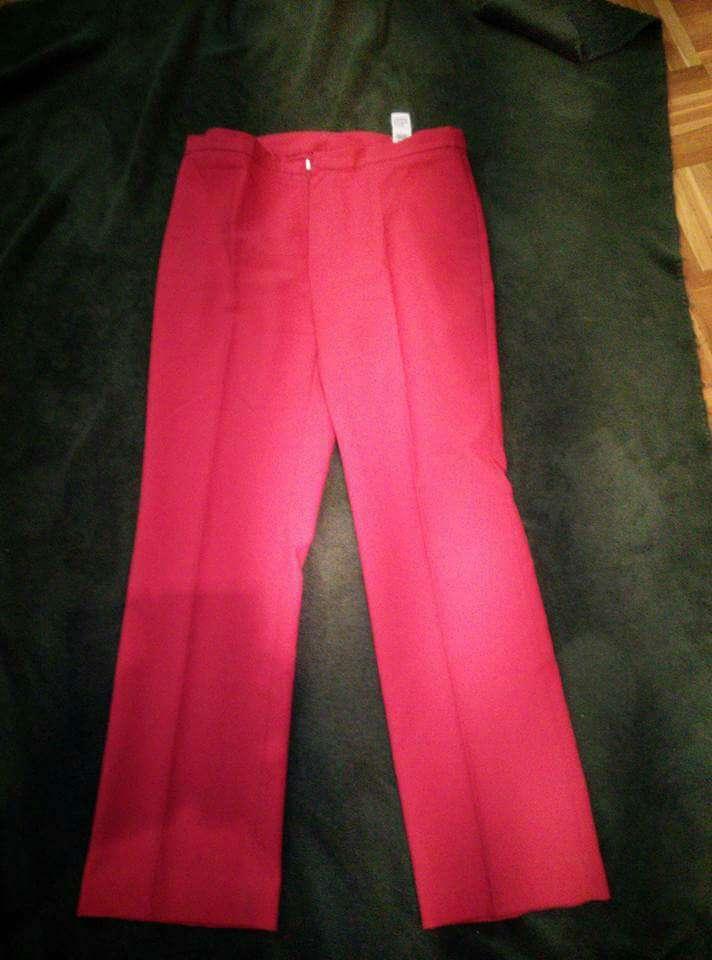Imagen pantalón rojo mujer 42/44