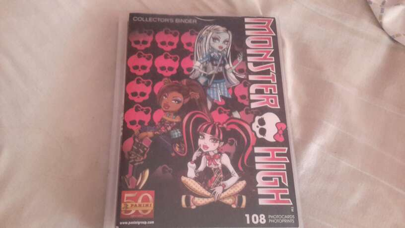 Imagen album monster high
