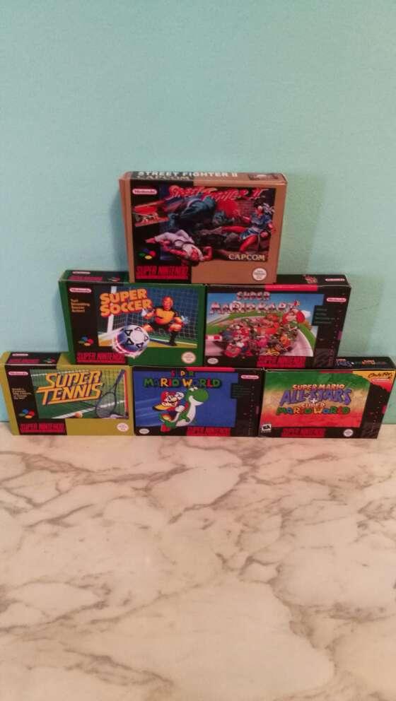 Imagen producto Cajas de Videojuegos 2