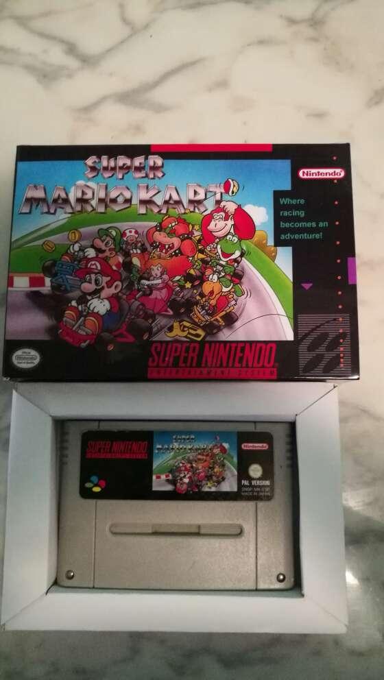 Imagen Super Mario Kart