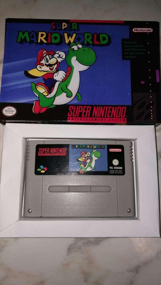 Imagen Super Mario World Snes