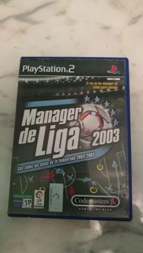 Imagen Manager de Liga 2003