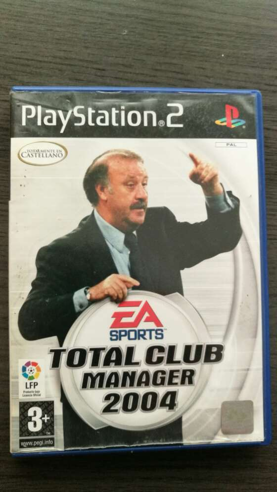 Imagen Total club manager 2004 Ps2