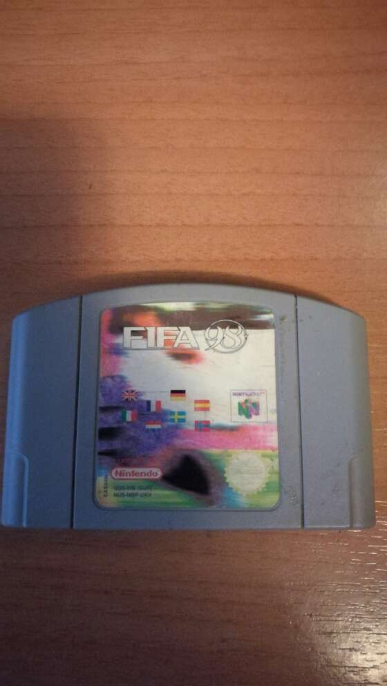 Imagen Fifa 98 Nintendo 64