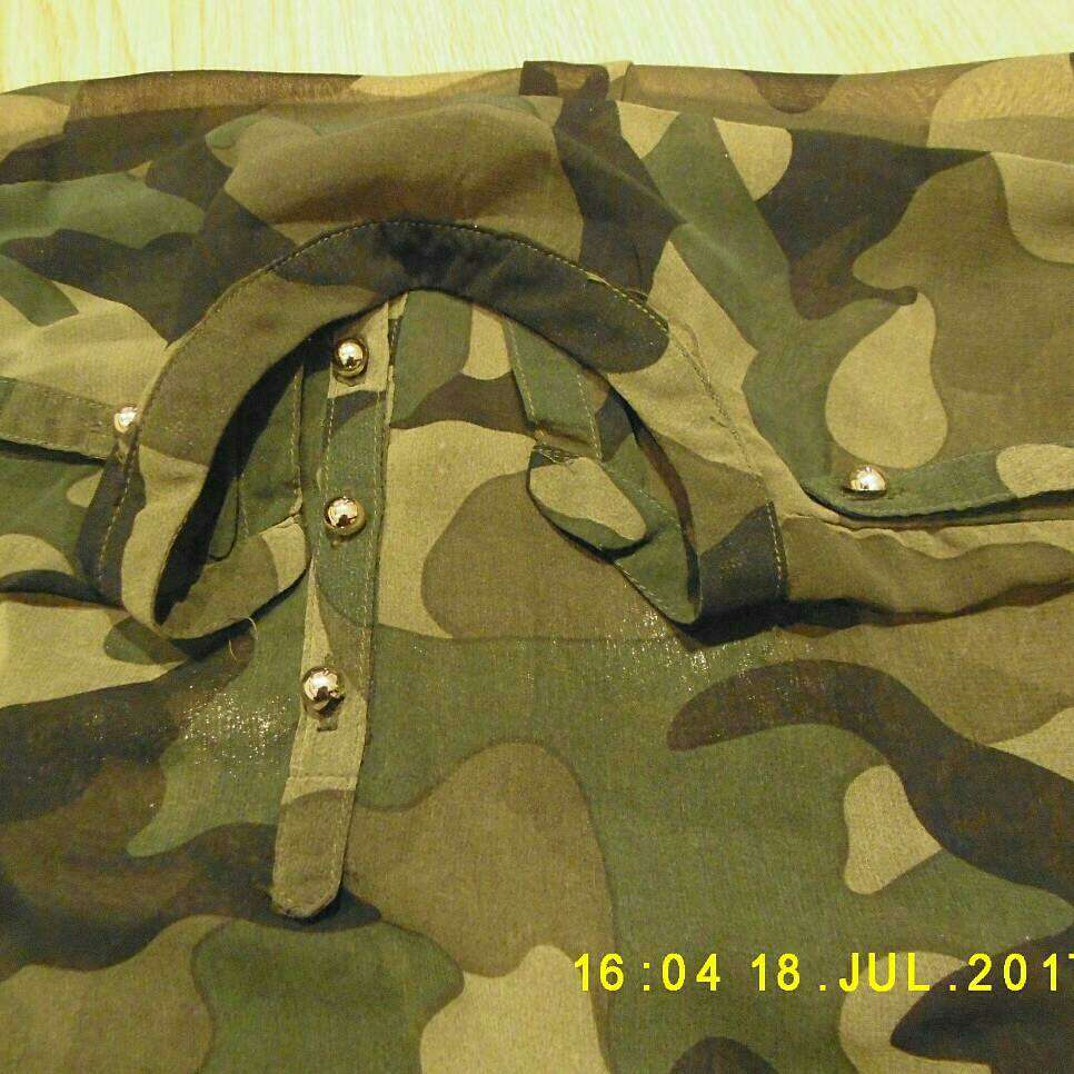Imagen producto Blusa camuflaje  2