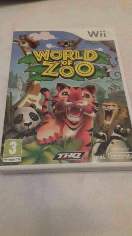Imagen producto Juego Wii World of Zoo 1