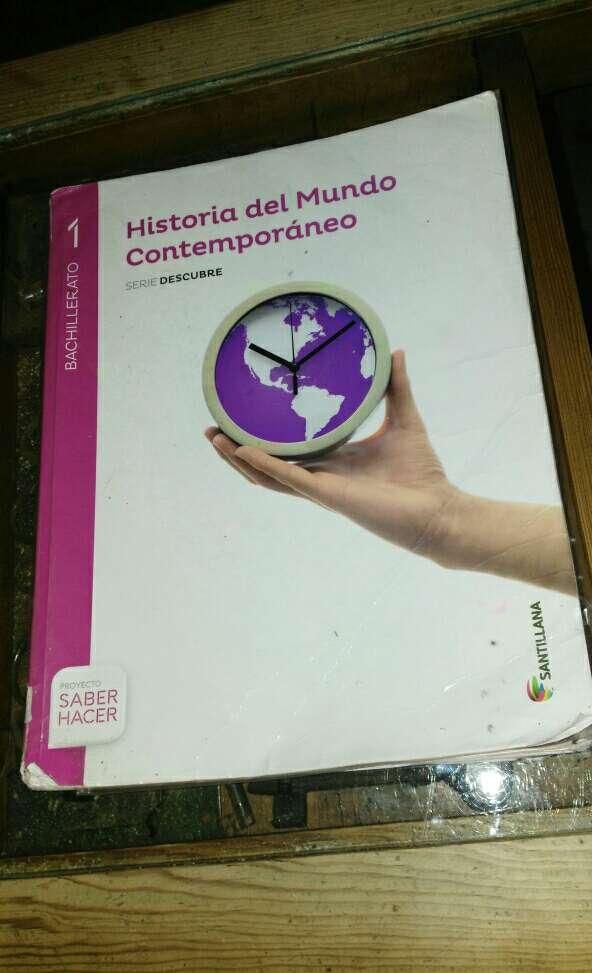 Imagen Libro de Historia de 1° Bachillerato