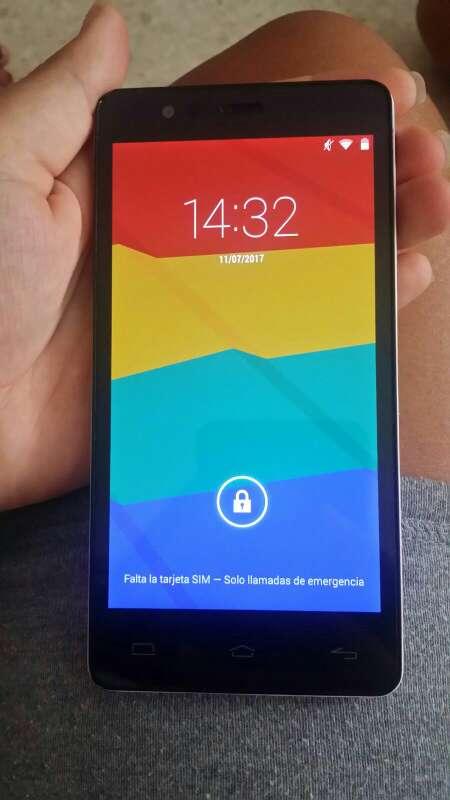 Imagen teléfono móvil bq e5
