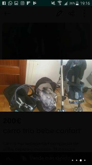 Imagen producto Carro trío bebeconfort 2