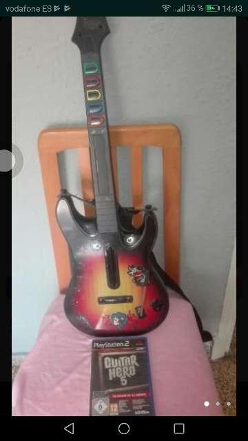 Imagen producto Se vende juego de guitar hero+ guitarra  3