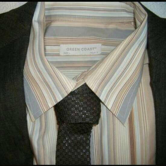 Imagen CORTE INGLÉS Camisa hombre marrón