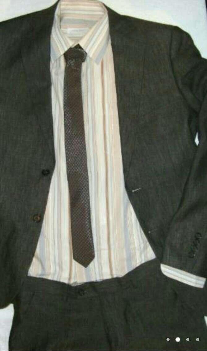 Imagen producto CORTE INGLÉS Camisa hombre marrón  3