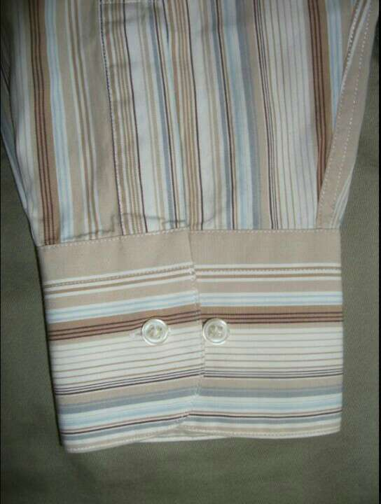 Imagen producto CORTE INGLÉS Camisa hombre marrón  2