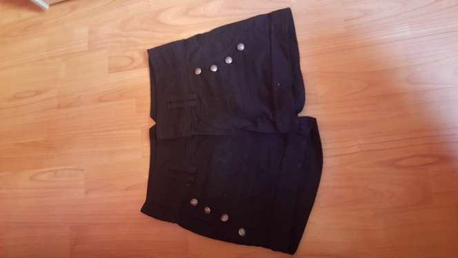 Imagen pantalon alto negro