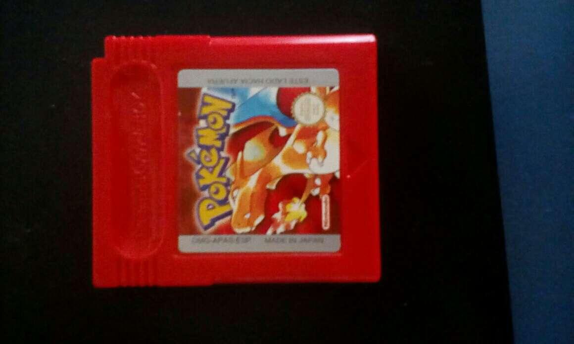 Imagen juego Game boy Pokémon rojo