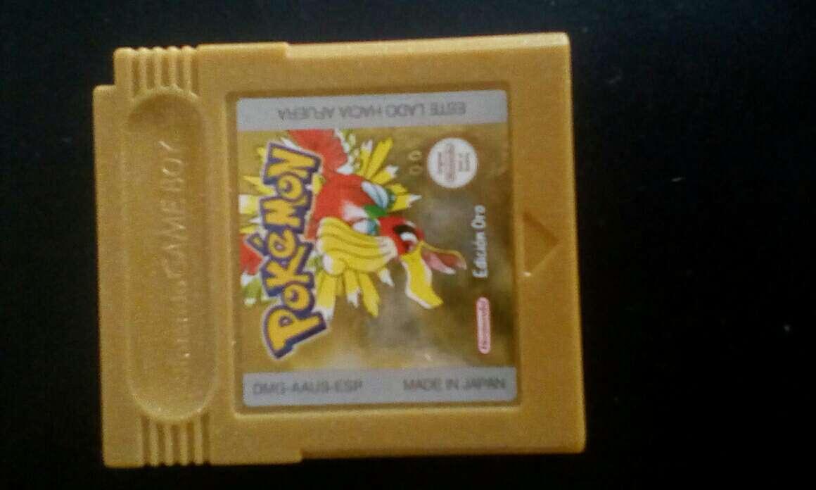 Imagen juego Game boy Pokémon oro