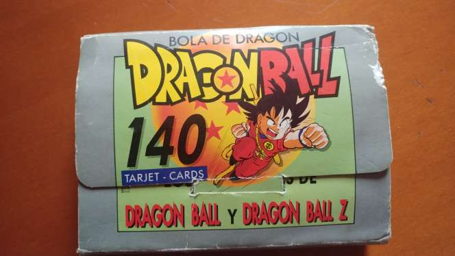 Imagen Dragon Ball y Dragon Ball Z tarjet-cards