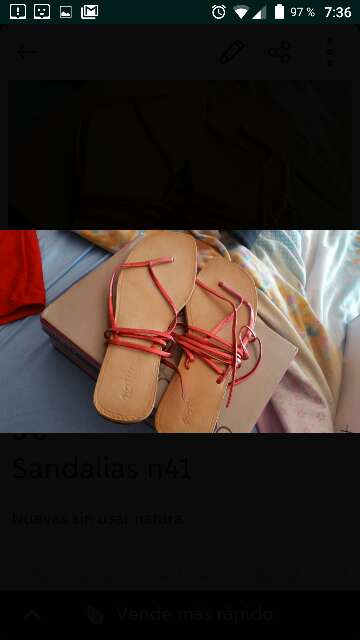 Imagen Sandalia nuevas