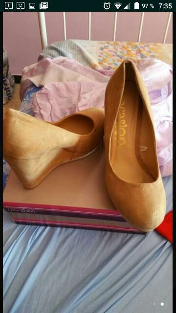Imagen Zapatos de cuña no 41
