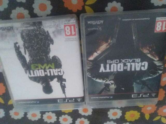 Imagen call of duty black ops y MW3