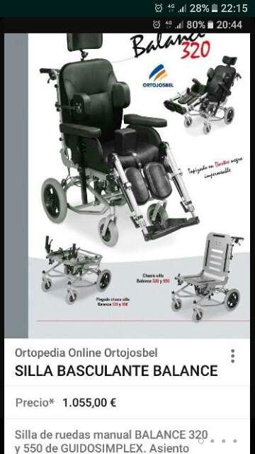 Imagen silla de rueda