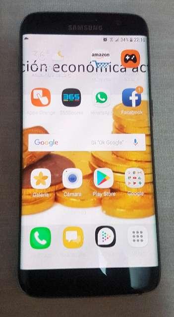 Imagen producto Samsung galaxy s7 edge 32GB como nuevo en perfecto estado con todos accesorios 3
