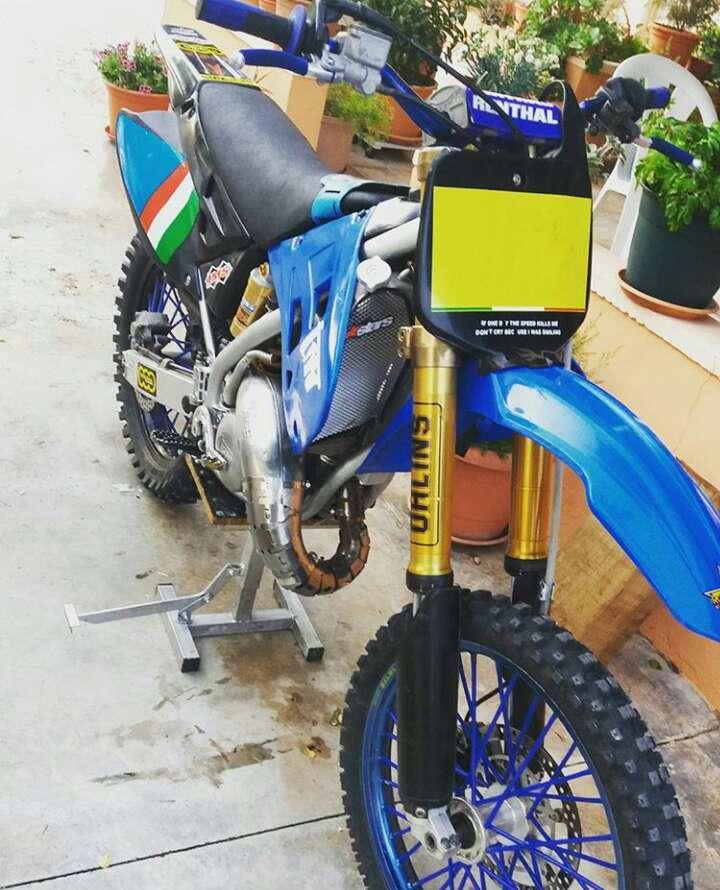 Imagen moto cross tm mx racing 2006