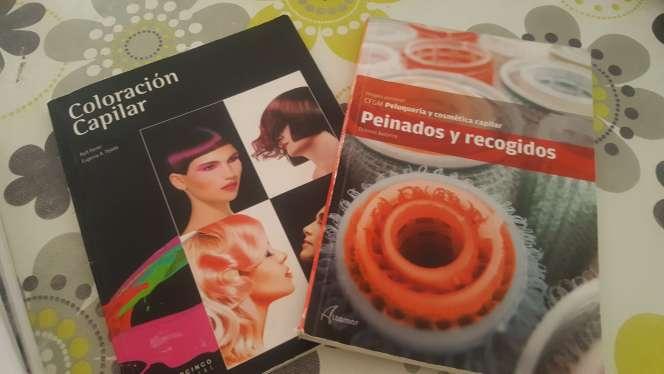 Imagen libros grado medio peluquería primer curso