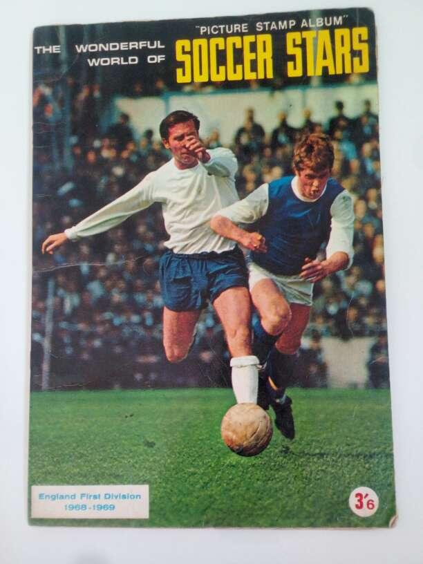 Imagen Álbum de fútbol año 1968