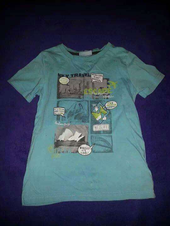 Imagen camiseta niñx talla 6