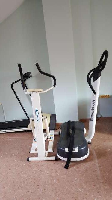 Imagen producto Plataforma y maquina de fitness  3