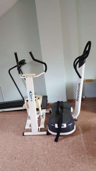 Imagen Plataforma y maquina de fitness