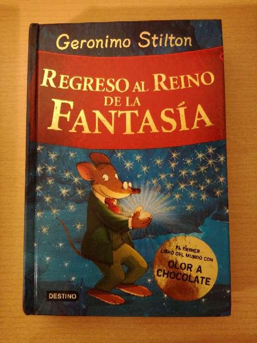 Imagen Libro de Geronimo Stilton: Regreso al reino de la fantasía