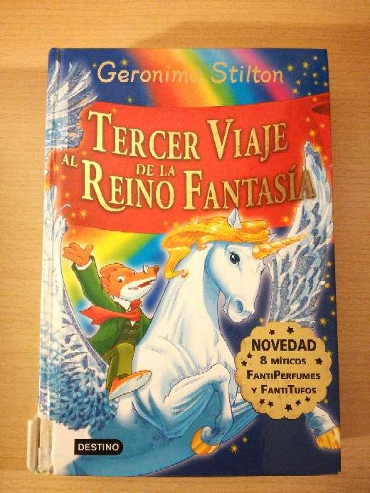 Imagen Libro de Geronimo Stilton: Tercer viaje al reino de la fantasía