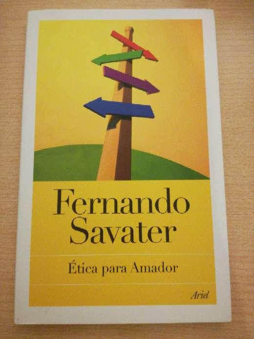 Imagen Libro escolar ''Ética para Amador''