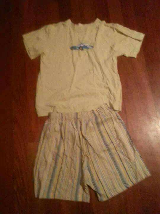 Imagen pijama verano talla 16